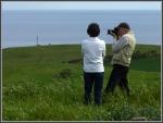 Ray and Julie capture the scene –Mark&Jenny