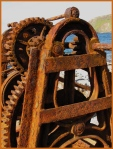 Old winch