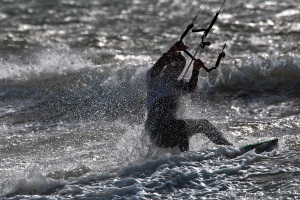 Kite Surfer - Jo Tabe