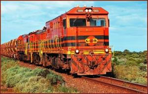 Iron Knob Ore Train - Adrian Hill