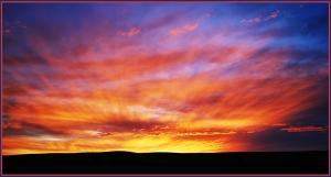 Sunrise Over Redhill South Australia - Adrian Hill