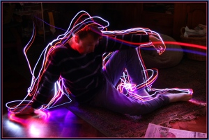 Light Painting 1 - James Allan - (open)
