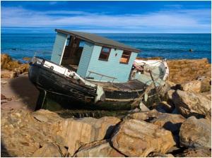 Shed On the Rocks - John Vidgeon (Open)