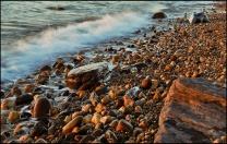 Rocky beach - Adrian Hill