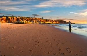 John Vidgeon - Crowded Beach (Open)