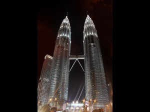 Terry Branford - Petronas Towers (EC Projected images - open)