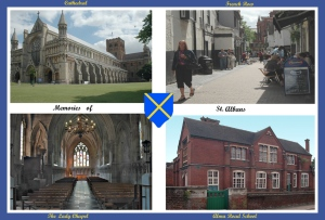 Eric Budworth - Memories of St Albans (Colour prints - set)