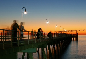 Melinda Hine - Glenelg Jetty (Colour prints - open)