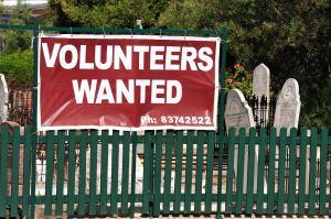 Volunteers Wanted - Ron Hassan - Set