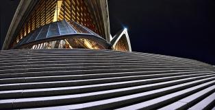 James Allan_Opera House Steps