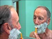 Close Shave - Eric Budworth (Set - Colour prints)