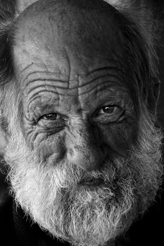 Old Man - Alberto Giurelli (Open - Mono prints)
