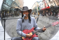 Dana Florea - Busking on Rundle Mall - Novice