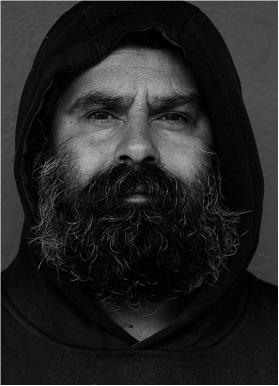 Alberto Giurelli - Homeless Man