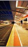 Adrian Hill - Hallett Cove Beach Railway Station at Dusk
