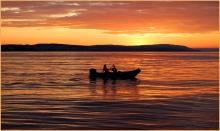 Evening Fishing - Ursula Prucha