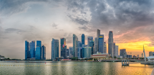 Singapore Sunset - Anthony Kernich