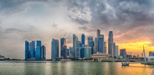 Singapore Sunset - Anthony Kernich
