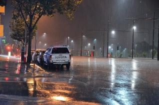 Heavy Rain at Night - James Allan