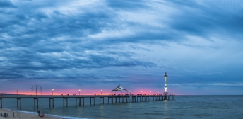 Jetty Blue Hour - Anthony Kernich