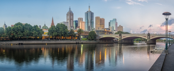 Yarra Sunset - Anthony Kernich