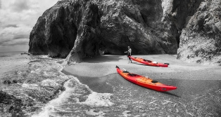 Selective Colour Kayaks - James Allan