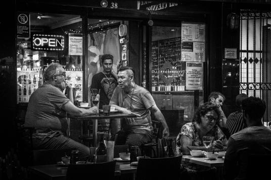 Diner conversation 1