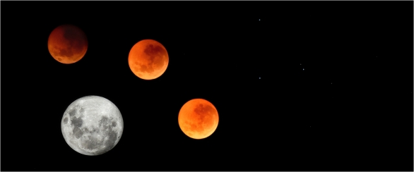 Blood Moon Eclipse - Helen Whitford
