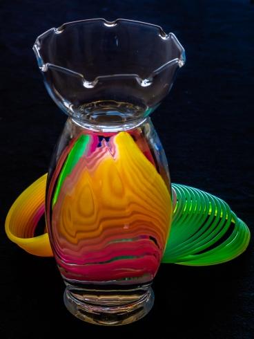 Slinky and Vase - Judy Sara