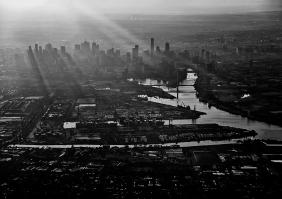 Melbourne Docks - James Allan
