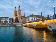 Zurich Sunset - Anthony Kernich