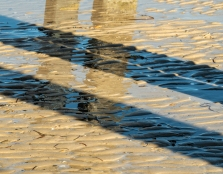 Pylon Shadow and Reflection - Kerry Malec
