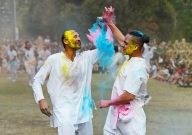Holi High Five - James Allan