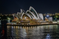 Opera House at Night - Gordon Lindqvist