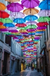 Umbrellas of Carcassonne – SuzieSmith