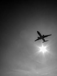 Vicki Kramer - Airplane Silhouette