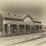 Eric Budworth_Mannahill Station