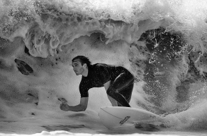 Frances Allan - Surfing Pondalowie