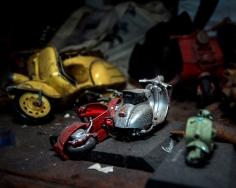 Vicki Kramer - Scooter Graveyard